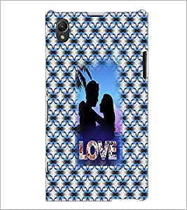 PrintDhaba Couple D-3550 Back Case Cover for SONY XPERIA Z1 (Multi-Coloured)
