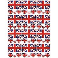 SpringPear 12x Temporär Tattoo von Nationalflagge für Internationale Wettbewerbe Olympischen Spiele Weltmeisterschaft Wasserfeste Fahnen Tätowierung Flaggenaufkleber WM Fan Set (12 Pcs)