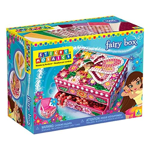 Sticky Mosaics Orb Factory Fairy Jewellery Box New 2014