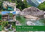 Der grüne Fluss (Wandkalender 2019 DIN A3 quer): Traumhafte Impressionen aus dem Verzascatal im Tessin (Monatskalender, 14 Seiten ) (CALVENDO Orte)
