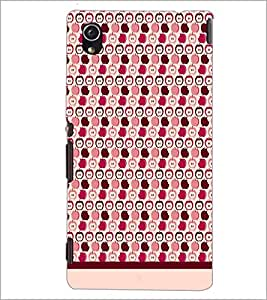 PrintDhaba Pattern D-1876 Back Case Cover for SONY XPERIA M4 AQUA (Multi-Coloured)