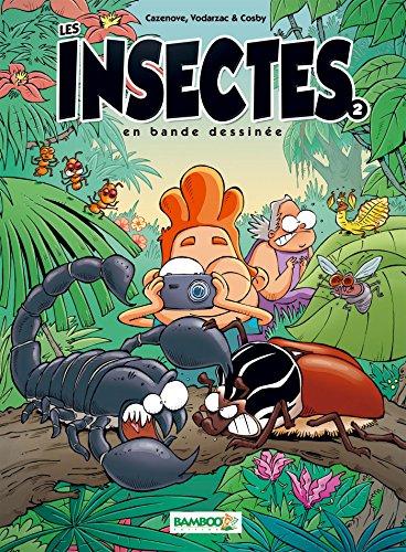 Les insectes en BD - tome 2