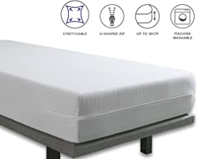 Tural - Extra elastischer und widerstandsfähiger Matratzenüberzug. Reißverschluss.