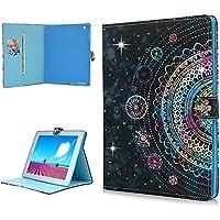 Funda para iPad 4, iPad 3, iPad 2 [Bling Shell] de lujo brillante 3D hecha a mano con purpurina Gems Diamante Funda protectora de pie con función de encendido/apagado automático para iPad 2/3/4 – Bling Mandala