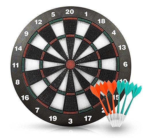 Weich Tipp Sicherheit Dart und Dart Board - Tolle Spiele für Kids - Freizeitsport für Büro (Set) (Kinder-dart-spiel)