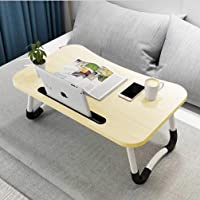 Table de lit pliante pour ordinateur portable - Support pour ordinateur portable pour petit déjeuner, ordinateur…