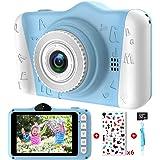 ITSHINY AppareilPhotoEnfants - Appareil Photo Numérique pour Enfants avec 3,5 Pouces Grand écran 1080P HD 12MP Carte SD 32