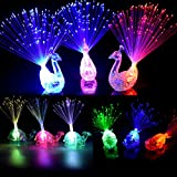 Dsar Party Favor for Kids Finger Lights Colorful LED Flashing Toys for Birthday, Wedding Concent, Best Gift (16 Piece)