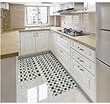 ditan stuoie Cucina di casa Tappeto musivo tappetini Antiscivolo Lunghi, Green, C