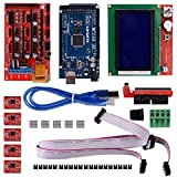 3D Drucker Kuman 3D Printer Controller Kit For Arduino electronic projects robot kits With Mega 2560 R3 +RAMPS 1.4 + A4988 Stepper Motor Driver+ LCD 12864 K17