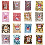 KINGSWAY CANDY SWEETS - Over 300 Different Sweets & Weights to Choose From (Liquorice Cream Rock, 500g)