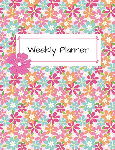 Weekly Planner: Week at a Glance Daily Planner - Undated -