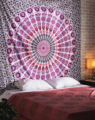 peacock-mandala-tapestry-indian-hippie-wall-hanging-bohemian-bedspread-mandala-cotton-dorm-decor-bea
