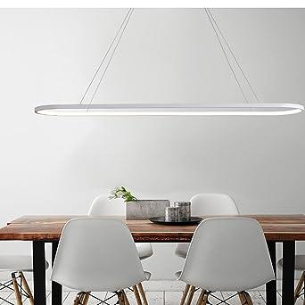 Oval LED Pendelleuchte Modern Kreativ Acryl Pendellampen Esszimmer ...