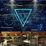 HOMEEN Hd Papier Peint Des Lignes Cosmiques De Création 3D Fond D'Écran Pour Murs Bar Ktv Mur Décoratif 3D Background Paper Peinture Murale Fonds D'Écran, 300X210 Cm (118,1 Par 82,7 In)...