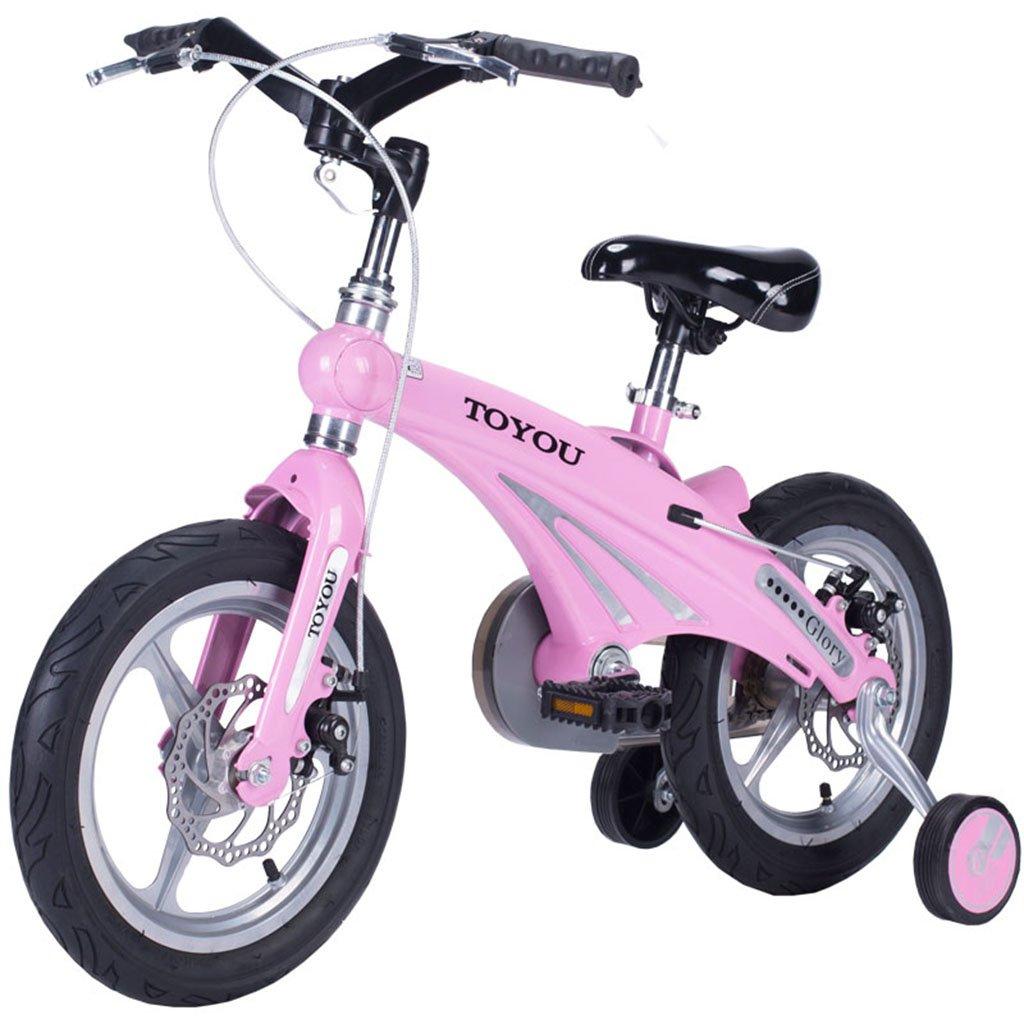 Carrello per bambini Bici dei bambini, bambino della ragazza del bambino di 3-9 anni Bicicletta del