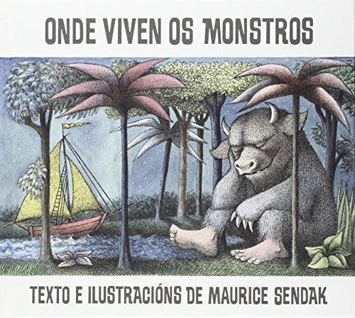Onde viven os monstros (Tras os montes) por Maurice Sendak