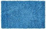 Gözze Teppich, 100% Baumwolle, Wollgarn-Hochfloroptik, 70 x 120 cm, Fjord, 1010-2247-72
