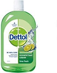 Dettol Disinfectant Cleaner for Home, Lime Fresh – 1L