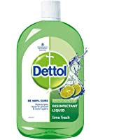 Dettol Liquid Disinfectant Cleaner for Home, Lime Fresh, 500ml