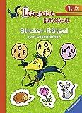 Sticker-Rätsel zum Lesenlernen