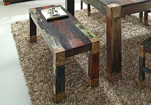 GOA 3520 Bank, Holz, 40 x 160 x 45 cm, bunt