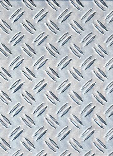 Gah-Alberts 466695 - Lamiera con scanalatura in alluminio, 120x1000x1,5 mm 300 x 1000 x 1,5 mm