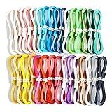 Juya Tant Papier Quilling-Set 1280 Streifen 32 Farben 39cm Länge / Streifen Papierbreite 3mm