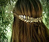 Aukmla Hair Comb Wedding Hair Slides Leaves Bridal Headpiece for Women and Girls
