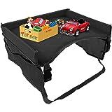 Auto Reizen Lade Voor Kinderen Auto Seat Organiser Kids Travel Tray Stuurwiel Tafel Reizen Trays Voor Kinderen Vliegtuig Reiz
