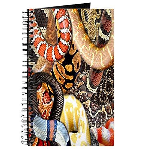 CafePress-Schlange Collage-Spiralbindung Journal Notebook, persönliches Tagebuch, Aufgabe Tagebuch - Gedruckt Von Boa