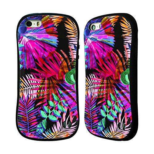 Ufficiale Haroulita Tropicale Neon Foglie Case Ibrida per Apple iPhone 6 Plus / 6s Plus Tropicale Neon