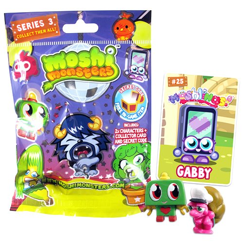 Moshi Monsters Überraschungstüte Serie 3 - 2 Monster (Sortiert, keine Auswahl möglich) [UK Import]