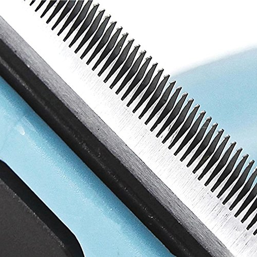 Hundebürste für Unterfell-Pflege 10cm (blau) | Inclusive Gratis Abstract | Auch für Fellpflege und deShadding bei Katzen Geeignet - 3
