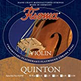 FISOMA Quinton Saiten für Violine 1/2 Satz -- die anspruchsvolle Schülersaite, mit prachtvollem, reinen Ton bei leichter Ansprache - Made in Germany