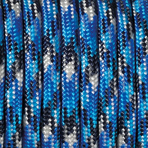 Paracord 4 x 50 mm Bleu/Bleu Multicolore