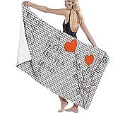 tondj billardtuch mathematische Formel Mathematik und Liebe Outdoor reisetuch picknickmatte sanddicht stranddecke Bad Pool Yoga 80x130 cm