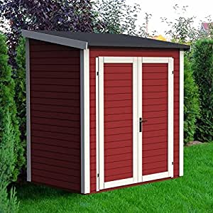 Abri de jardin adossable bois Skur 1* 2,19 m²