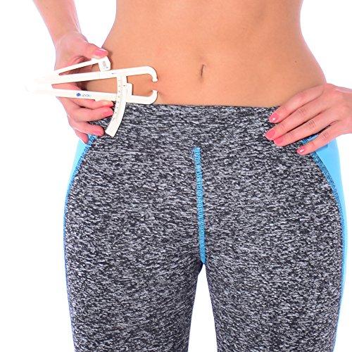 Blupalu Caliper Körperfettzange – Körperfettanteil berechnen - 6