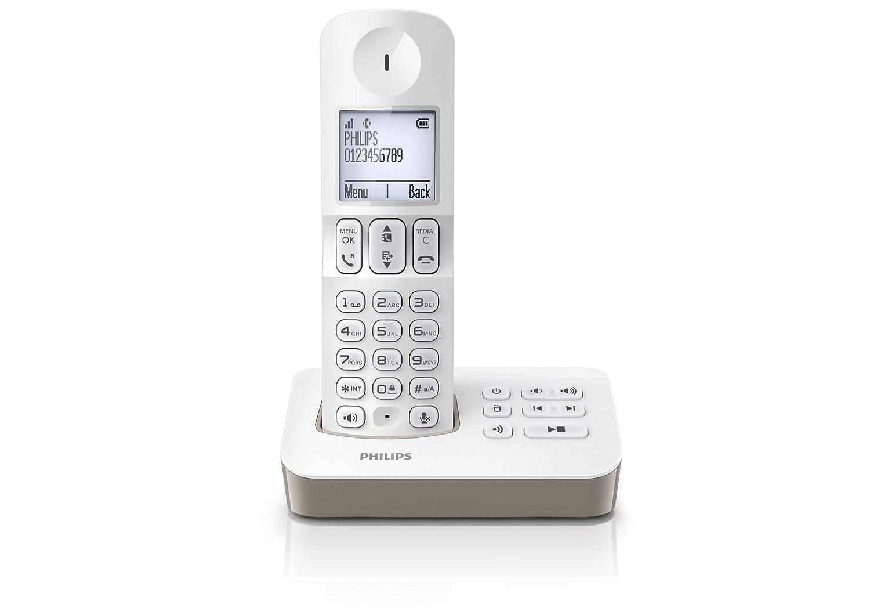 philips d2052b fr t l phone fixe sans sans fil 2. Black Bedroom Furniture Sets. Home Design Ideas