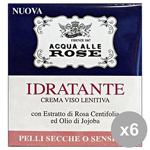 Set 6 NEUTRO ROBERTS Crema IDR-LEN.Acqua Di ROSE P.S.50 Ml. Cura del viso