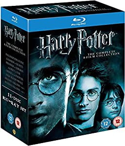 Harry Potter - Complete 8-Film Collection [Blu-ray] [2011] [Region Free] [2001]