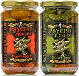 Psycho Pickles Combo - 1 x Ghost Pepper Pickled...
