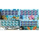 Gibraltar 962-965 Sheetlet (completa.edición.) 2001 Europa (sellos para los coleccionistas)