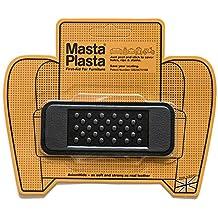 Reparación Cuero, Polipiel y Skai - Parches Adhesivos - MastaPlasta - Rectangulo Pequeño (100x40mm) (Negro)