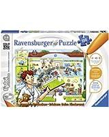 """Ravensburger 0523 - tiptoi Puzzeln, Entdecken, Erleben: """"Beim Kinderarzt"""""""