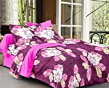 Story@Home Candy 120 TC Double Bedsheet ...