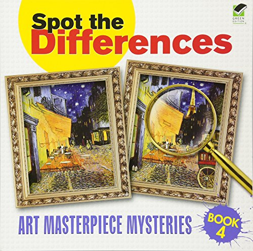 Spot the Differences: Art Masterpiece Mysteries Book 4 (Dover Children's Activity Books) por Dover