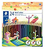 Staedtler 185 C24 Noris Colour Colouring Pencil - Assorted Colours