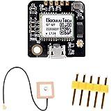 ZHITING GT-U7 Módulo GPS Receptor GPS Navegación Satélite con EEPROM Compatible con Microcontrolador 6M 51 STM32 UO R3 + IPEX